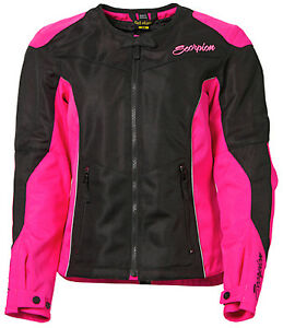 Scorpion Womens Verano Vented Textile Motorcycle Jacket - Pick Size Color