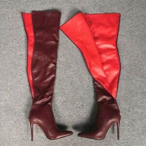 Custom-made Ladies Overknee High Boots Stilettos High Heel Nightclub Pointed Toe