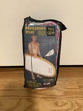 Vintage Fast Strap Paddle Board Strap Pink & Blue Brand New