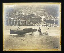 "Le cruiser "" MONTE CARLO"" signé Rol course de hors-bord 1909 Marine Monaco"