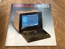 Vintage Collecter Origanal Instrution Manual Terminatel 254