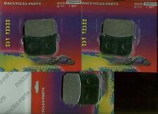 Kawasaki Disc Brake Pads KZ550 1981-1983 Front & Rear (3 sets)