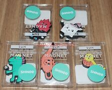SHINee SMTOWN COEX Artium SUM STATIONERY OFFICIAL GOODS 5 ALL MAGNET SET NEW