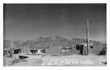 Frashers Fotos Real Photo Postcard 1860 Tucson Arizona Replica Movie Set~117882