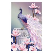 5D Pink Magnolia Animal Resin Diamond Painting Embroidery Art Craft Room Decor