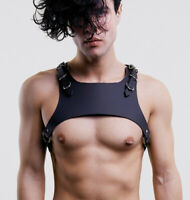 Men's' Leather Harness Punk Sexy Chest Harness BDSM Shoulder Belt Body Bondage