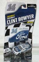 2020 CLINT BOWYER #14 BUILT FORD PROUD NASCAR AUTHENTICS 1/64 CAR WAVE 07 WOW