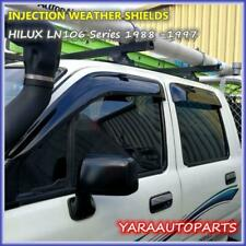 Weathershields Weather Shields Window Visors for TOYOTA HILUX LN106 88-97 Tinted