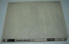 Microfich Ersatzteilkatalog VW Quantum Typ 32B B2 Parts Catalog Stand 02/1984!