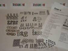 Lambretta 202 Piece Stainless Steel Fixing Kit Sx150 Sx200