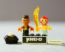 Kre-O Cityville Invasion Series 2 Mini-Figure Population Kneedrops El Fuego