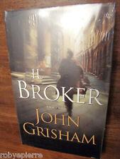 Il broker John Grisham NUOVO INCELOFANATO COPERTINA RIGIDA con sovracopertina