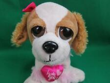 AERIAL BOUQUETS PLUSH PUPPY DOG EYES BROWN WHITE COCKER SPANIEL GIRL I LOVE YOU