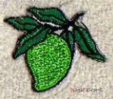Patch Stemma toppa ricamata mini frutta termoadesiva piccolo