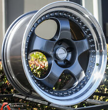 19x9.5 Varrstoen Es6 5x120 +20 GunMetal Wheels (Set of 4)