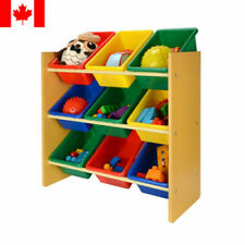 Sortwise® Primary Kids Toy Organizer Storage Box with Plastic Bins Container