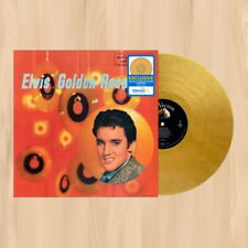 GOLD VINYL----> ELVIS PRESLEY Elvis' Golden Records EXCLUSIVE LP Hound Dog  0320