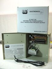 MG Electronics DPS-12VDC-9 Camera Power Supply New In Box Guaranteed