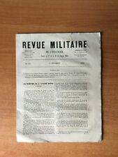 REVUE MILITAIRE DE L'ETRANGER  : n° 516 : les manoeuvres de la cavaleri