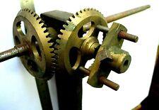 Renvois d'angle horloge regulateur uhr usine comtoise gare tower clock turmuhr E
