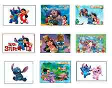 9 Lilo and Stitch Stickers, Birthday Party Favors, Labels, Rewards, Scrapbooking