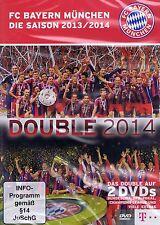 DOPPEL-DVD NEU/OVP - FC Bayern München - Die Saison 2013/2014 - Double 2014