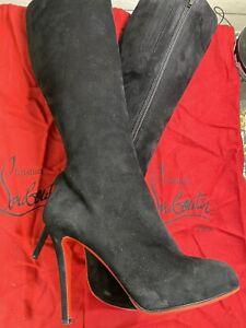 christian louboutin 38.5 boots
