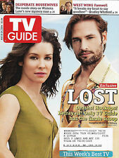 TV Guide Magazine  May 8-14, 2006 Evangeline Lilly Josh Holloway Kyle MacLachlan