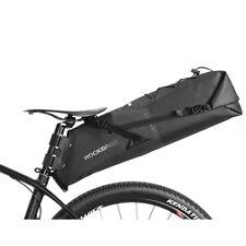 ROCKBROS 100% Wasserdichte Fahrrad Satteltasche 12-14 L Sitz Tasche Braun