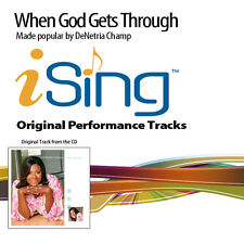 DeNetria Champ - When God Gets Through - Accompaniment Track