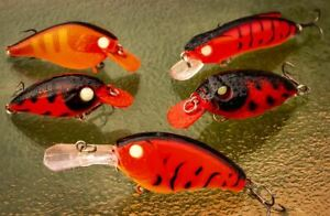 5 Redfin lures Jacks Yellowbelly Barra Bream Trout Shad Cod Flathead Bass Tailor