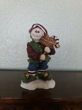 """#36521 Wendell P Jingletoes.Christmas Countdown, New/Box 4""""Boyds Snow Doodles"""
