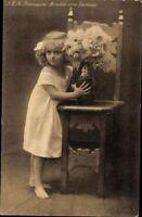 Ansichtskarte PK Prinzessin Monika v. Sachsen Monarchie Porträt Percy Hein 1908