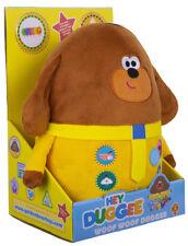 NEW Hey Duggee Woof Woof Duggee Talking Soft Plush Toy