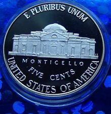PROOF 2010  S US JEFFERSON, Nickel, Sharp MONTICELLO STEPS With New Holder.