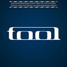 (2x) Tool Sticker Die Cut Decal Self Adhesive Vinyl hard rock band