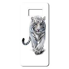 For Samsung Galaxy S8 Silicone Case White Tiger Watercolour - S7270