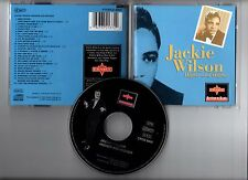 """JACKIE WILSON """"Higher And Higher"""" (CD) 1993"""