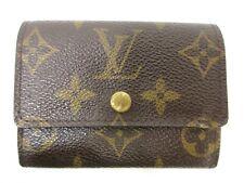 Auth Louis Vuitton Monogram Porte Monnaie Plat M61930 Coin Purse 94468