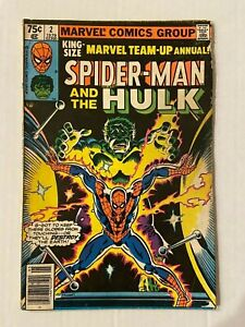 Marvel Team-Up Annual #2 Comic Book Featuring The Hulk