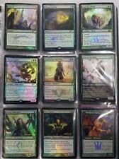 Magic The Gathering - Mixed Lot - Various Green x5 - Foil Promo Cards