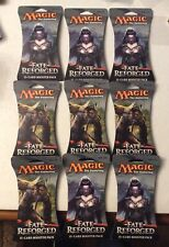 MAGIC THE GATHERING FATE REFORGED (15) CARD BLISTER BOOSTER PACK LOT (9) SEALED