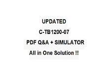 SAP CERTFIED IMPLEMENTATION CONSULTANT SAP BUSINESS ONE  Exam QA PDF&Simulator
