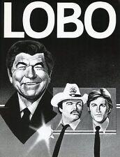 CLAUDE AKINS BRIAN KERWIN MILLS WATSON LOBO 1980 ORIGINAL NBC TV PHOTO BILLBOARD