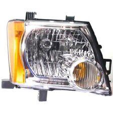 For Xterra 05-15, Passenger Side Headlight, Clear Lens