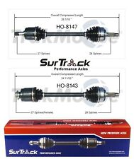 For Honda CR-V 2002-2006 4WD AWD FWD Pair of Front CV Axle Shafts SurTrack Set