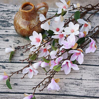 Fake Magnolia Single Stem 90cm Long Simulation Magnolia Flower Home Decoration