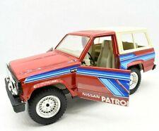 Miniature voiture Nissan Patrol Tonka Polistil Jeep auto 1:24 Modélisme