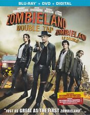 ZOMBIELAND DOUBLE TAP BLURAY & DVD & DIGITAL SET with Emma Stone & Bill Murray