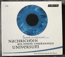 Hörbuch ? Nachrichten aus einem unbeka? Frank Schätzing 2 CDs      Hörbücher NEU